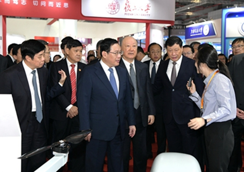The 21st session China international industry fair has been opened on Sep 17th, A total of 170,000 people from 27 countries participated in the exhibition, and it will continue for 4 days. Let's wish this exhibition a complete success.